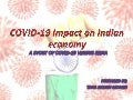 Impact of corona virus on Indian Economy