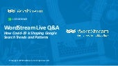 Live Q&A Series: How COVID-19 is Shaping Google Search Trends
