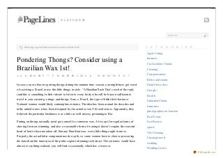 Covingtoncorner.org pondering-thongs-consider-using-a-brazilian-wax-1st