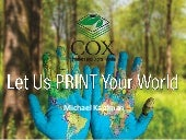 Cox Printers Speaks to The Mandela Washington Fellowship