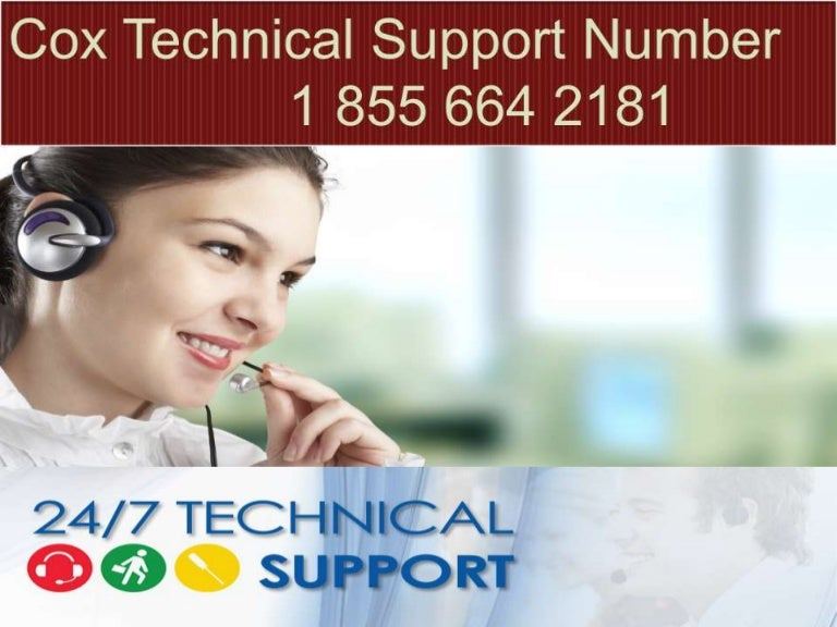 Cox technical support 1-855-664-2181 number