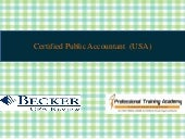 CPA Course, CPA Training Institute - Professional Training Academy