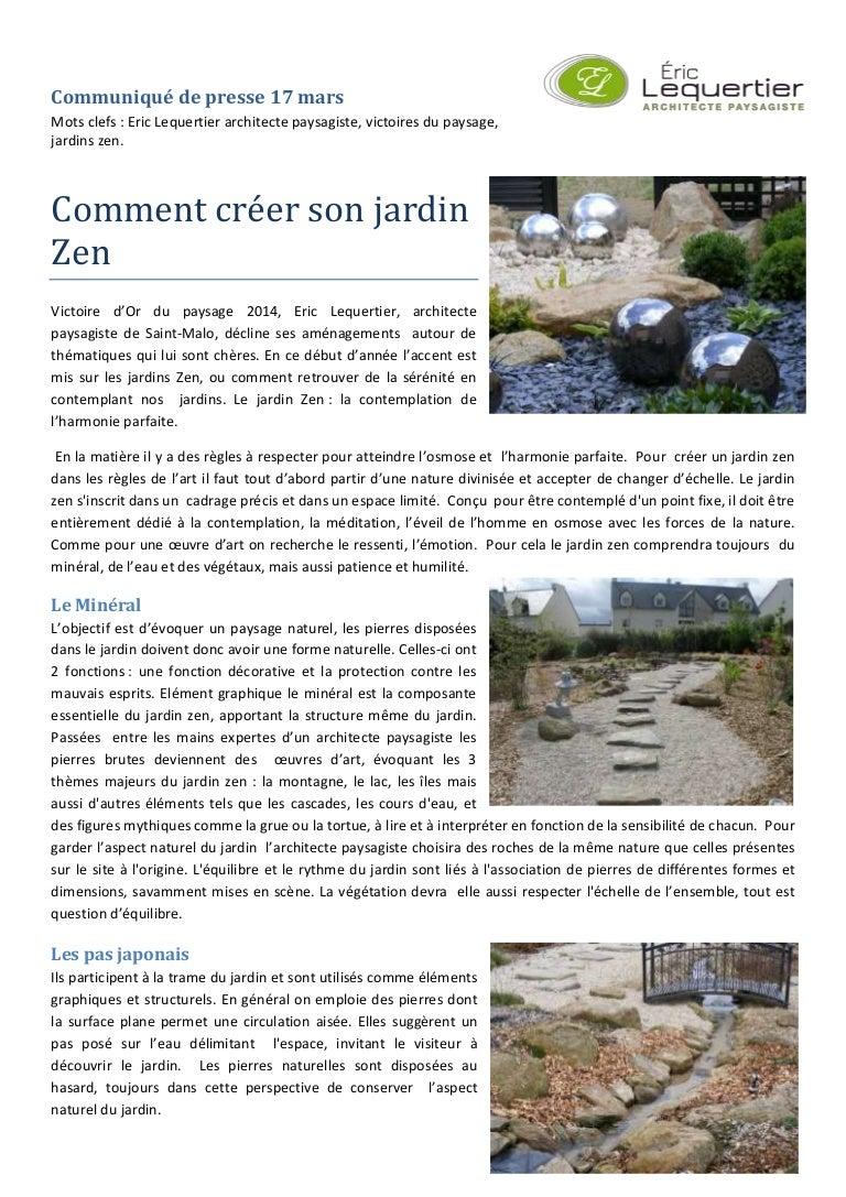Bassin De Jardin Design Zen comment créer son jardin zen
