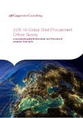2015-16 Global Chief Procurement Officer Survey - CPO