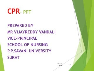 CPR ppt