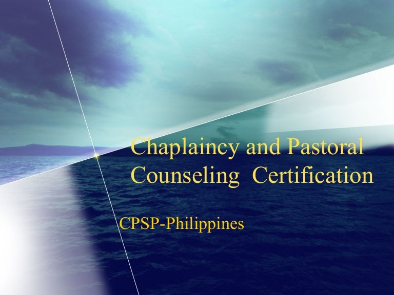 CPSP-Philippines Certification and Accreditation