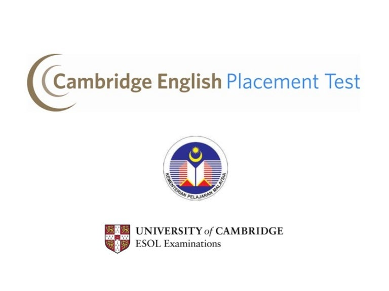 cambridge english placement test online free