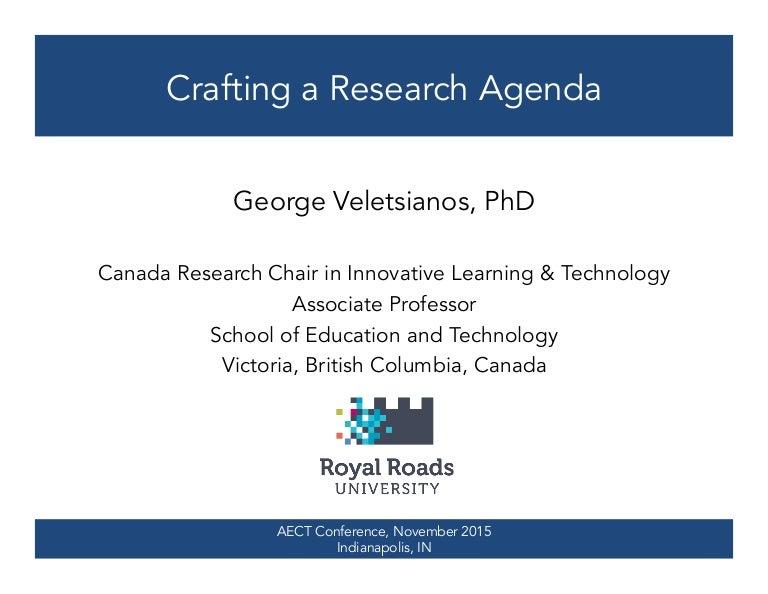 Research Agenda Template | Crafting A Research Agenda