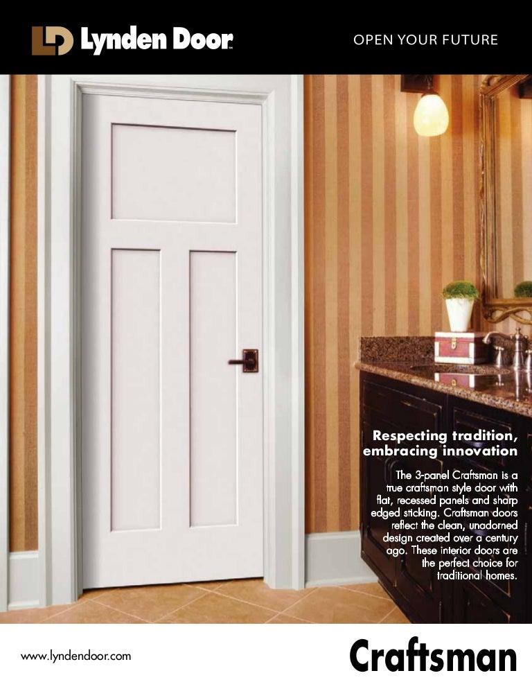 Craftsman Interior Door 52015