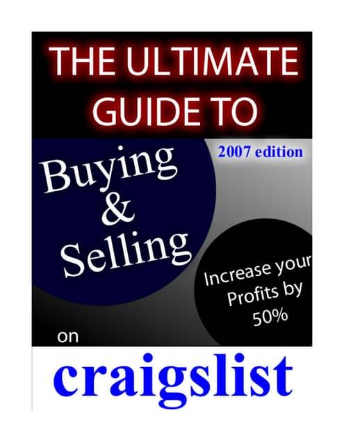 Craigslist Com Philadelphia >> Craigslist Philadelphia Selling Tips