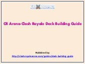 Cr arena clash royale deck building guide