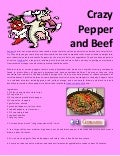 Crazy pepper and beef