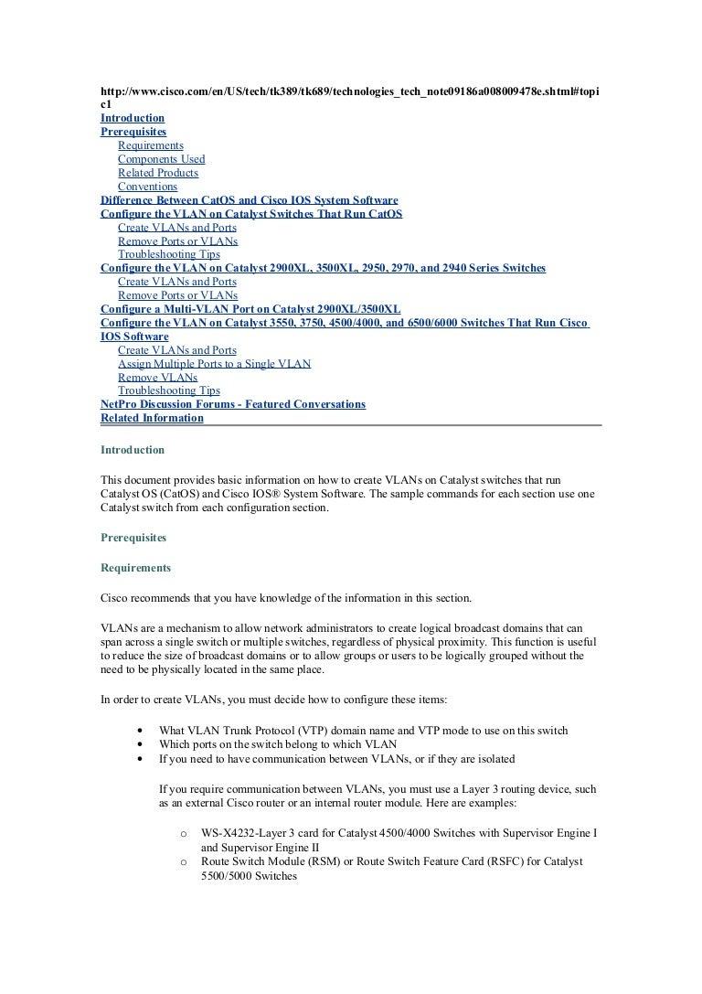Crear Vlan How To Configure Intervlan Routing On Layer 3 Switches Cisco Crearvlan 100830041222 Phpapp01 Thumbnail 4cb1283141589