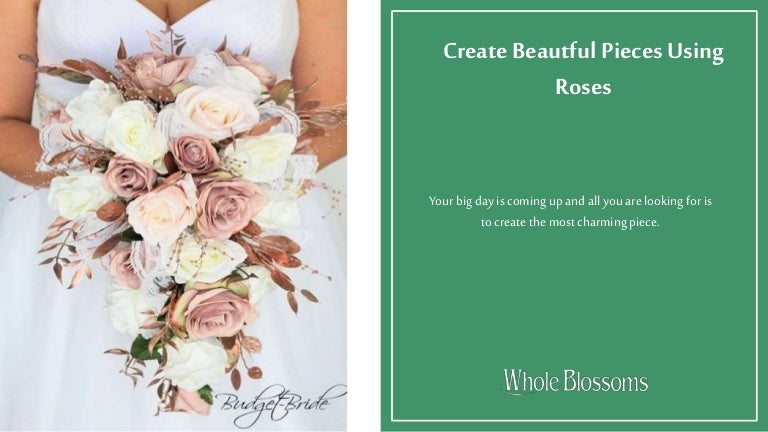 Create Amazing Wedding Decorations With Bulk Roses