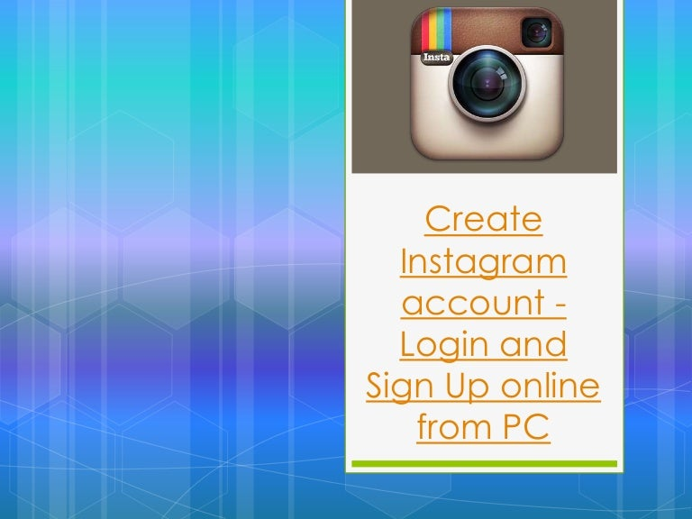 Instagram Account Sign-up Steps | Instagram Login with Facebook