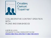 Creating Content Together - Plone Integration with SMASHDOCs