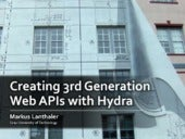 Creating 3rd Generation Web APIs with Hydra