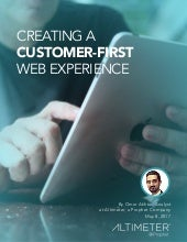 [RESEARCH REPORT PREVIEW] Creating a Customer-First Web Experience