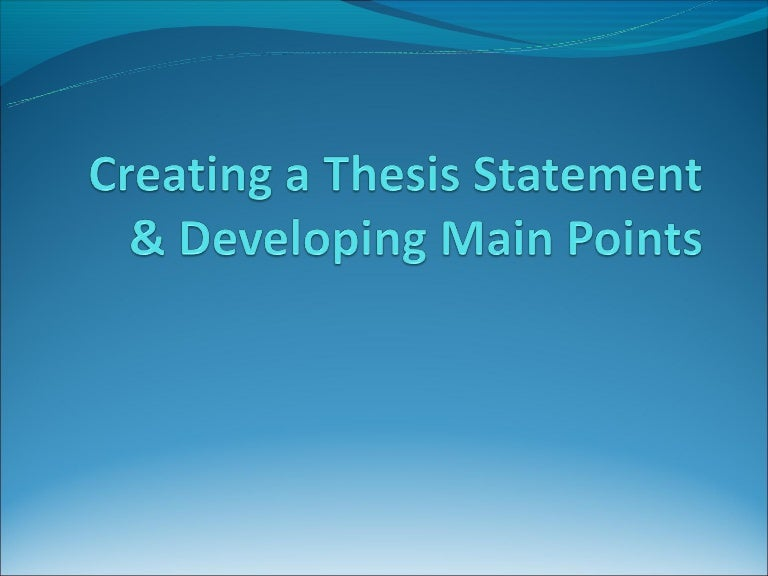 fiction thesis statement The thesis statement states the thesis or argument of the author in an essay or similar document usually no more than a sentence or two long, it is a focused section of text that clearly delineates the.