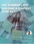 [RESEARCH REPORT] Key Elements for Building a Content Strategy