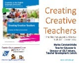 Creating creative teachers