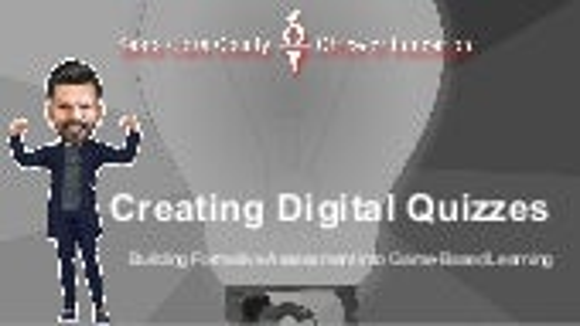 Creating Digital Quizzes