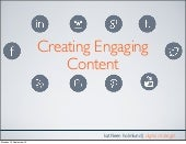 Creating engaging content: Storytelling on Social Media