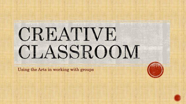 Creative classroom masterclass