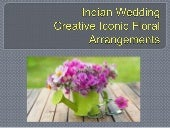 Creative Iconic Floral Arrangements