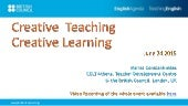 Creative Teaching, Creative Learning
