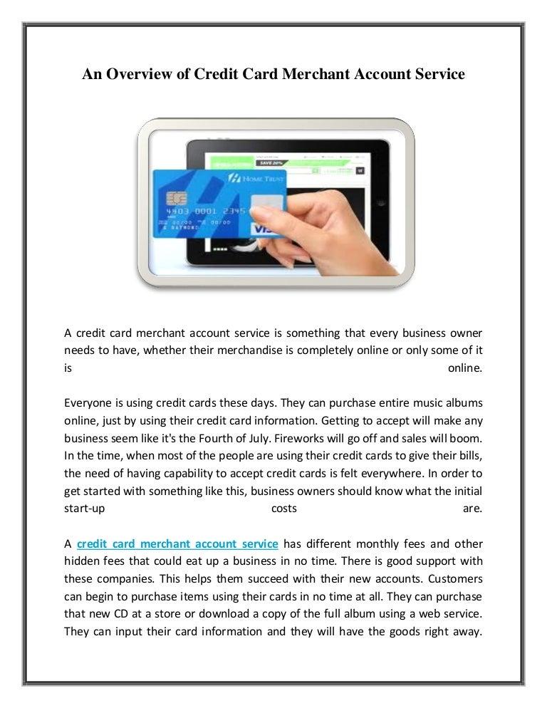 Account card credit adult merchant services — 1