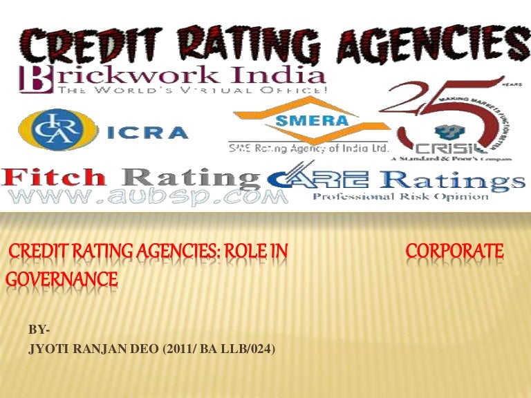 Dissertation credit rating agencies