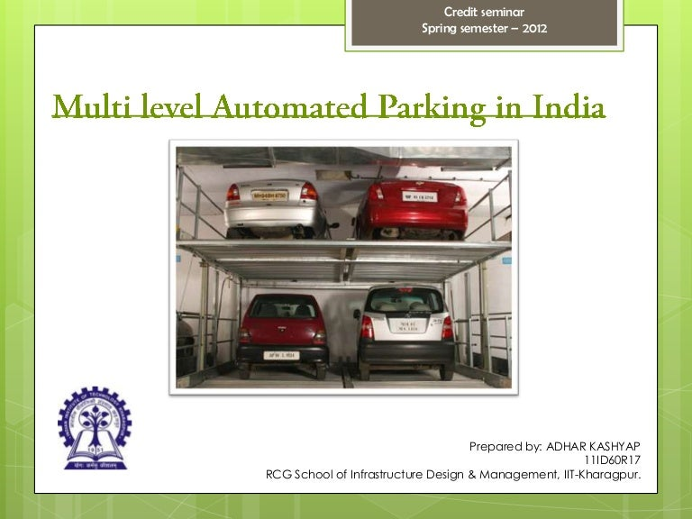 Multi Level Car Parking In India