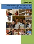 Creekview High School Media Center Annual Report 2008 09