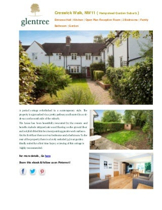 Creswick walk property hampstead garden suburb