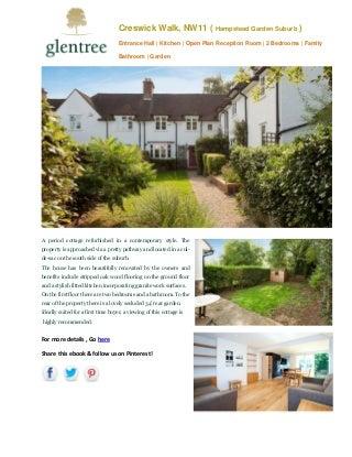 Creswick walk property hampstead garden suburb