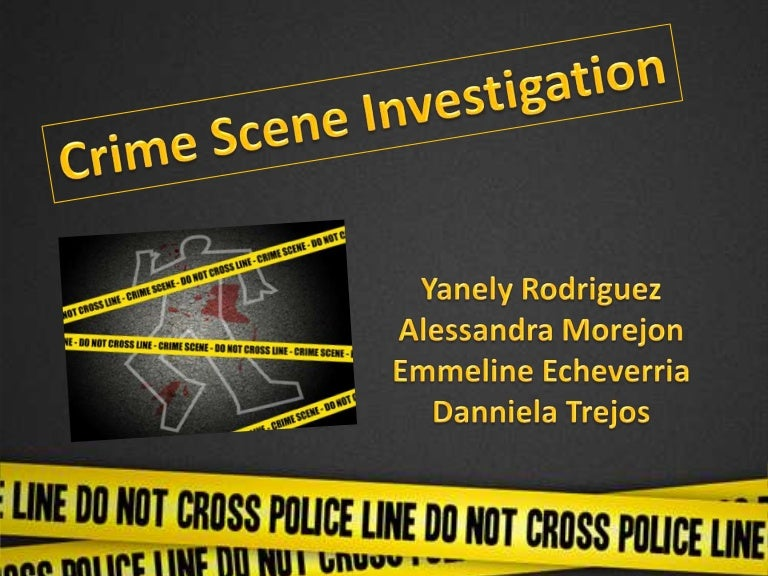 crime scene, Powerpoint templates