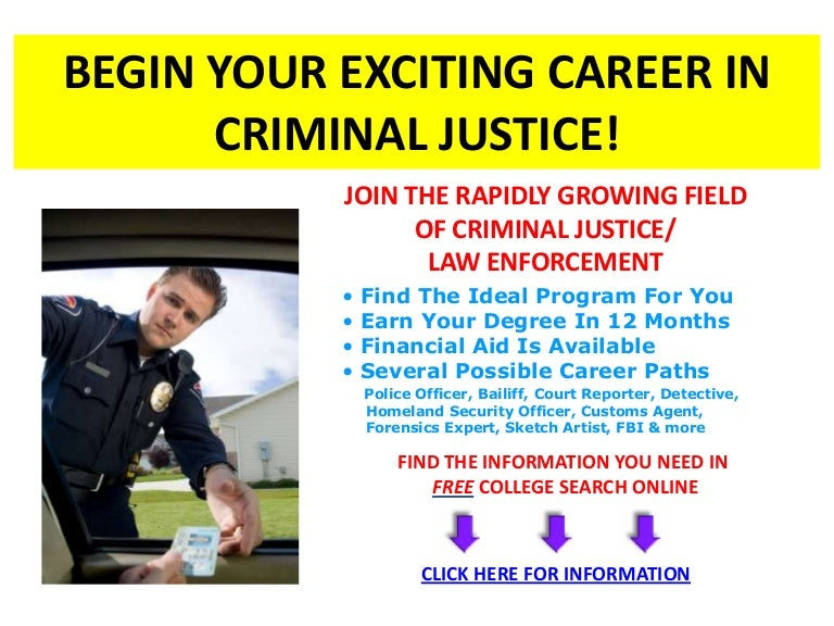 Criminology jobs