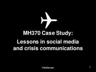 Social Media Crisis Communications Case Study � United Airlines