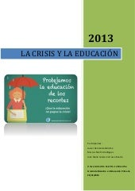 Crisis monografico definitivo