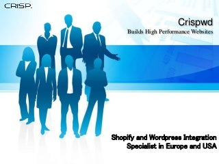 Wordpress Integration Specialist in Europe and USA
