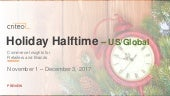 Criteo Holiday Halftime Report US/Global 2017