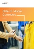State of Mobile Commerce - Criteo 2014