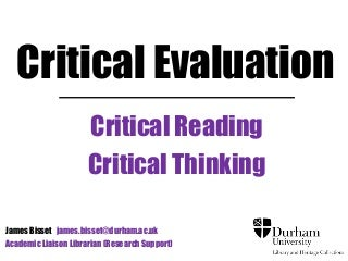 Critical thinking situations