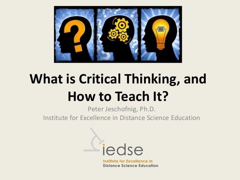 critical thinking utsc