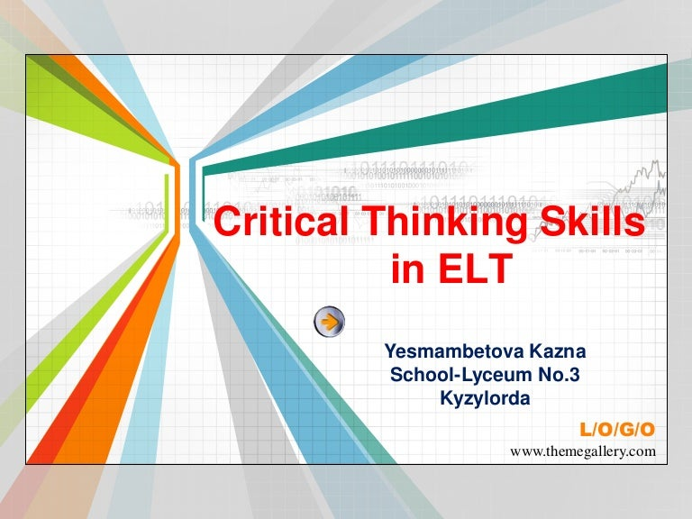 critical thinking skills activities for adults