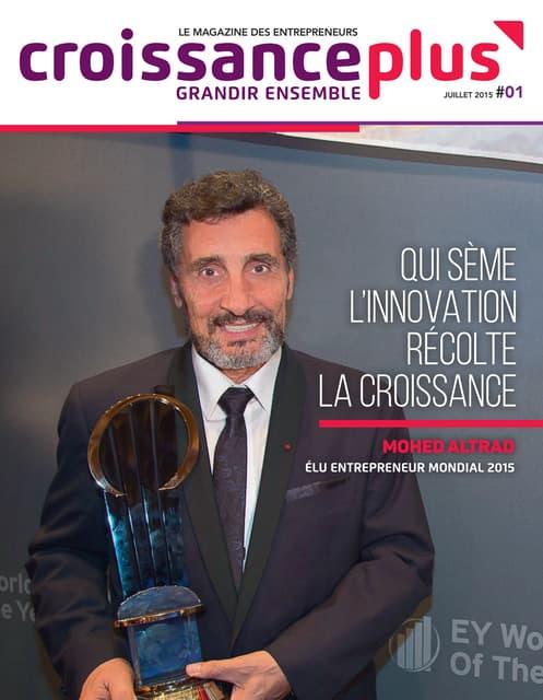 CroissancePlus Magazine // 1er numéro