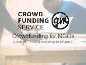 Crowdfunding for NGOs - Best Practice: bockwerk