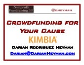 Crowdfunding for your cause