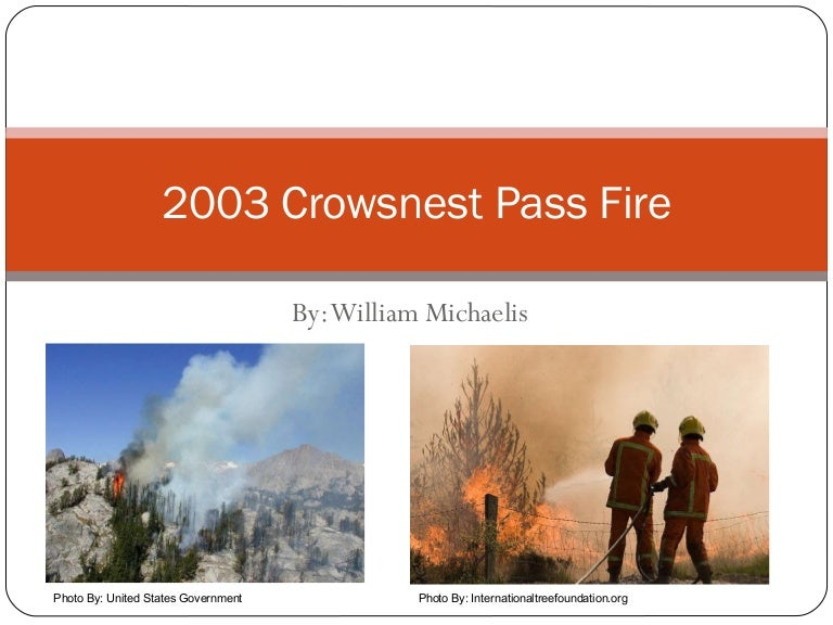 crows nest fire - photo #9